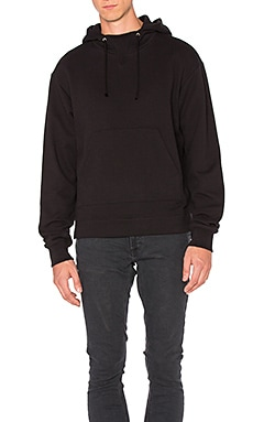 Kake Mock Pullover in Black