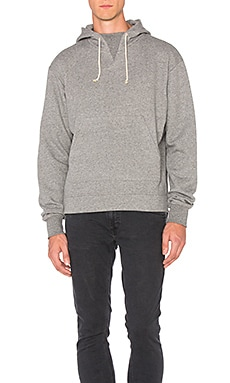 JOHN ELLIOTT Kake Mock Pullover in Dark Grey