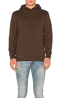Hooded Villain in Brown