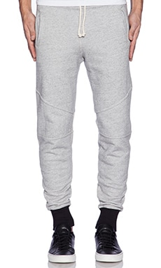 John Elliott + Co Escobar Sweatpant in Grey Duo 2