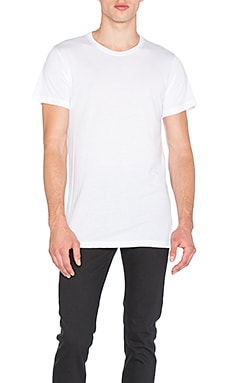 John Elliott + Co Classic Crew in White