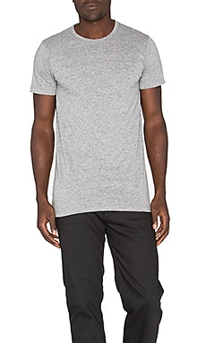 John Elliott + Co Classic Crew Tee in Grey