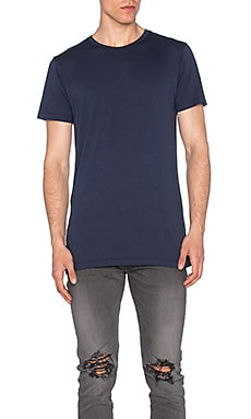 John Elliott + Co Classic Crew in Midnight Blue