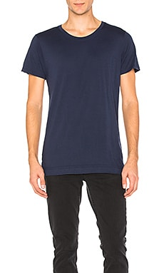 John Elliott + Co Mercer Tee in Midnight Blue