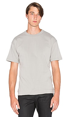 John Elliott + Co Heavy Crop Tee in Plaster