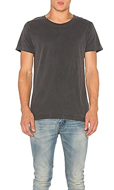 Washed Mercer Tee in Washed Black