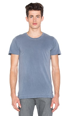 Washed Mercer Tee in Washed Navy