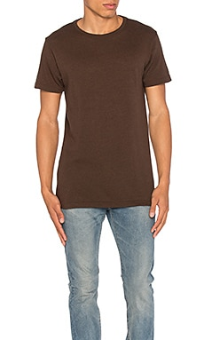 JOHN ELLIOTT Classic Crew in Co-Mix Brown