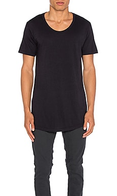 JOHN ELLIOTT Curve U-Neck in Dark Navy