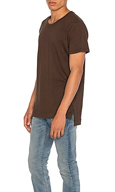 JOHN ELLIOTT Mercer Tee in Co-Mix Brown