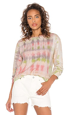 Reconstructed Long Sleeve Tie Dye Tee JOHN ELLIOTT $198 BEST SELLER