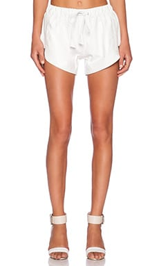 Jennifer Kate Running Short in Cream