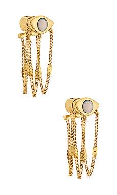 Veaux Drape Earrings Jenny Bird $85
