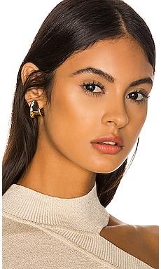 Juno Mini Hoop Earrings Jenny Bird $80