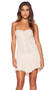 Jen's Pirate Booty Cherokee Rose Mini Dress in Summer Quartz