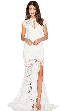 Jen's Pirate Booty x REVOLVE Sleeping Beauty Gown in White