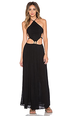 Jen's Pirate Booty Pura Vida Maxi Dress in Black