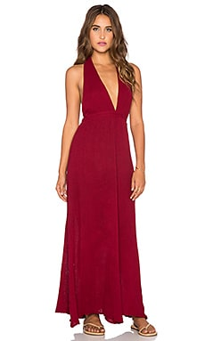 Jen's Pirate Booty Sungazer Maxi Dress in Deep Red