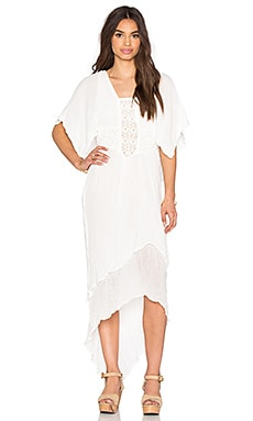 Jen's Pirate Booty Diamond Maxi Dress in White