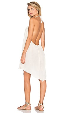 Monarch Cover Up Dress en Naturel