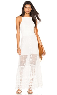 Matrimony Dress in Ritual Romantic White