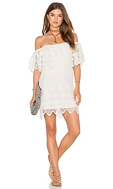 Charmer Dress in Ritual Romantic White