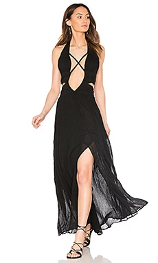Lexington Maxi Dress in Black