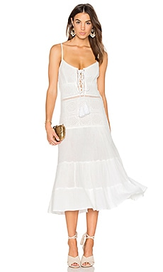 x REVOLVE Tassel Queen Bandit Dress in White