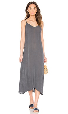 Gauze Sanele Slip Dress in Storm