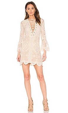 Reflection Mini Dress in Mandala Natural