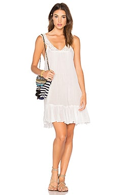 Ghana Mini Dress in White
