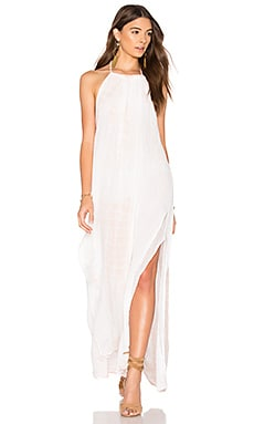 Tassel Margarita Maxi Dress in Summer Quartz & White Lightening Tie Dye