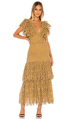 Flamenco Maxi Dress Jen's Pirate Booty $286
