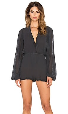 Jen's Pirate Booty Tumbleweed Playsuit in Faded Black