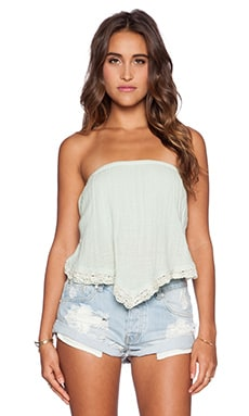 Jen's Pirate Booty Wonder Bandeau Top in Aloe