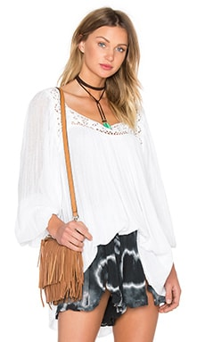 Bianca Tunic Top en Blanc