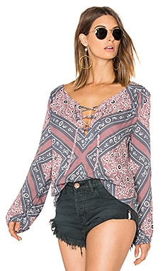 Belladona Top in Wood Rose