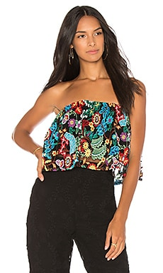 Tropical Forest Tecual Tube Top