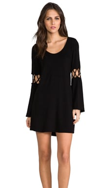 James & Joy Dixie Dress en Noir