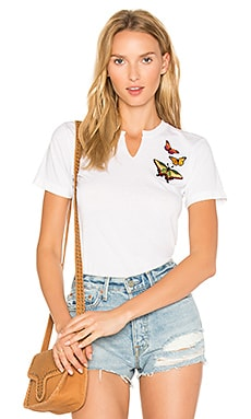 Butterfly Patch Tee en Papillon