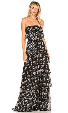 Купить Вечернее платье - JILL JILL STUART, Без бретель, Китай, Черный