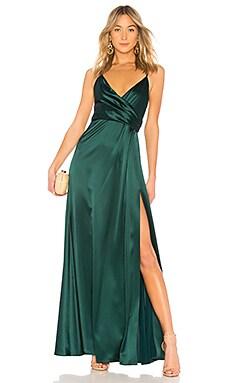 Купить Вечернее платье - JILL JILL STUART, Платья, Китай, Темно-зеленый