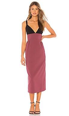 Фото - Платье - JILL JILL STUART цвет вишня