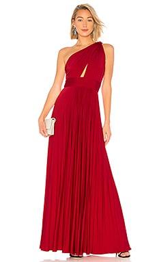 Купить Вечернее платье - JILL JILL STUART, С одним плечом, Китай, Красный