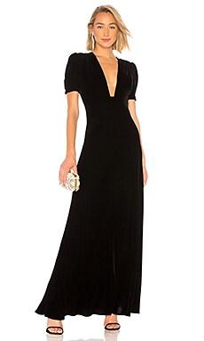 Купить Вечернее платье - JILL JILL STUART, Бархат, Китай, Черный