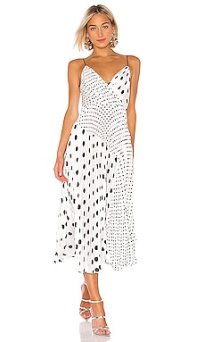 08995f10039 Pleated Polka Dot Dress JILL JILL STUART  436 ...
