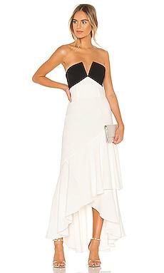 Strapless Ruffle Gown JILL JILL STUART $478