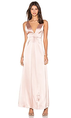 V Front Gown