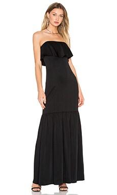 JILL JILL STUART Strapless Drape Gown in Black