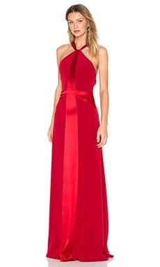 Вечернее платье с y-образными бретельками сзади - JILL JILL STUART